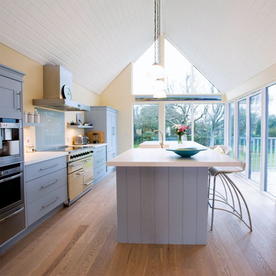 Galley kitchen extensions joy studio design gallery for Galley kitchen diner ideas