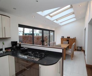 orangery extension builder, kitchen extension, surrey hants, berks, fleet, hindhead, liss, petersfield, surbiton, west byfleet, walton on thames, kingston upon thames